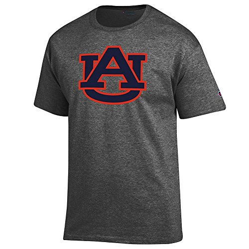 Auburn Tigers Tshirt Icon Charcoal - XXL