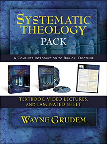 Amazon.com: Systematic Theology Pack: A Complete Introduction to Biblical  Doctrine (0025986534271): Wayne A. Grudem: Books