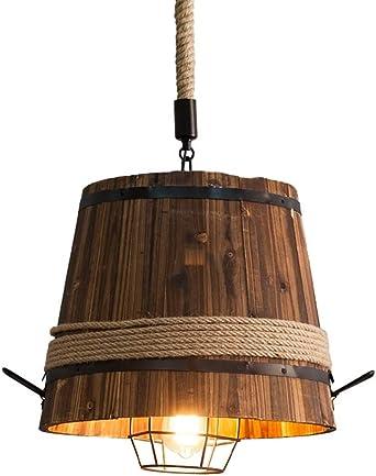 Kronleuchter Home Lighting H/ängelampe Wohnzimmer Restaurant K/üche Kaffeebar Lampenschirm Pendelleuchte Industrial Vintage Decken-H/ängelampe