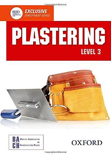 Plastering Level 3 Diploma Student Booklevel 3 Diploma