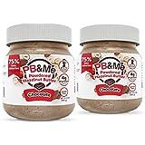 PB&Me Powdered Hazelnut Spread Chocolate, 184G, Chocolate, 2 Count