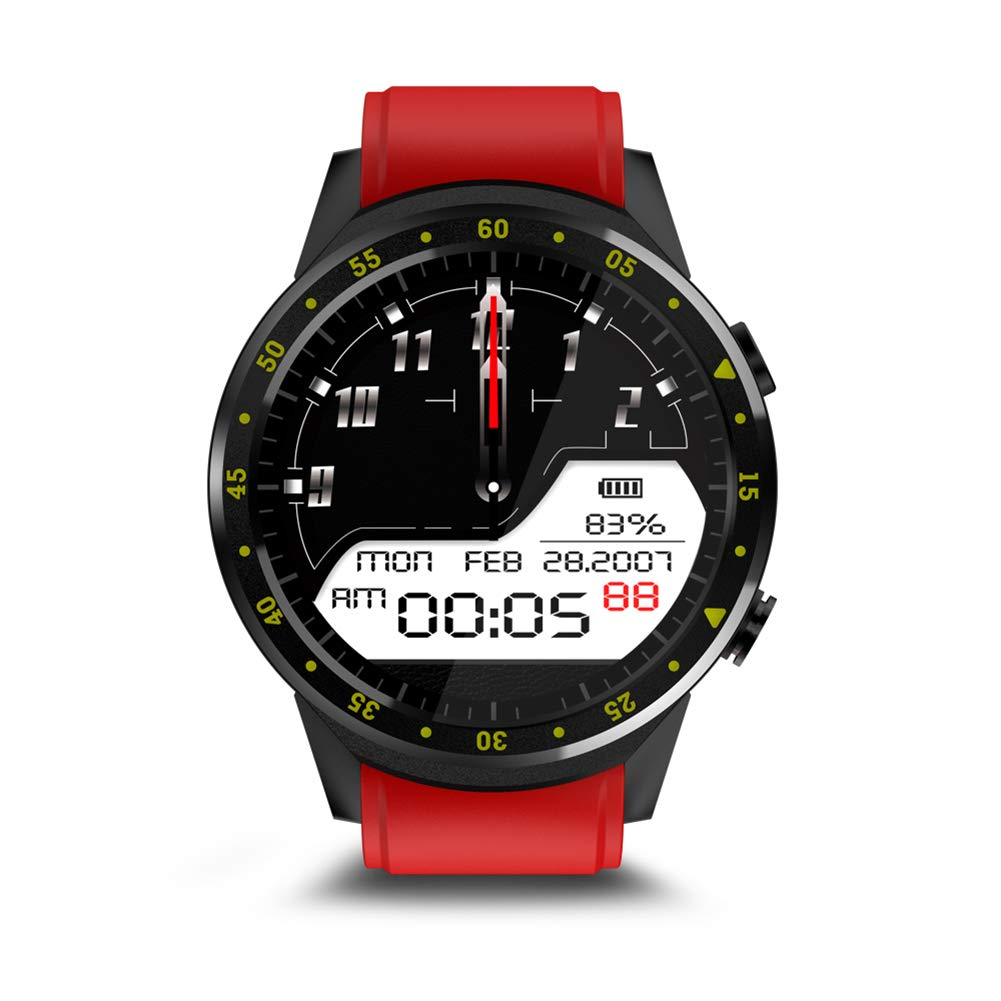 Amazon.com: yanbirdfx F1 Bluetooth GPS Heart Rate SIM ...