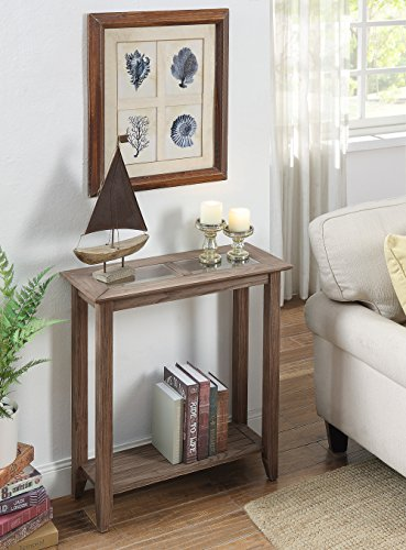 Convenience Concepts Carmel Hall Table, Driftwood