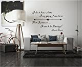 david bowie decal - Quote It! - David Bowie I Don't Know Vinyl Wall Decals Quotes Inspirational