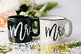 Mr and Mrs Campfire Mug Set
