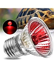 RISHIL WORLD AC220V E27 75W Amphibian Bird Snake Heat Reptile Bulb Light Red Heating Lamp
