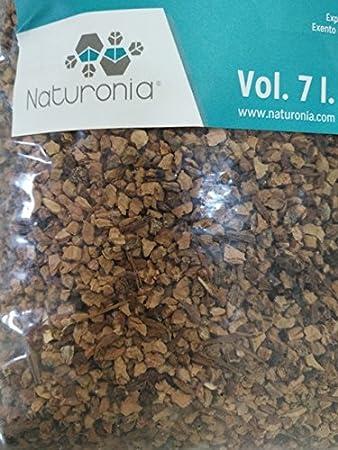 Corcho granulado Natural para Jaulas de Pájaros, Roedores y ...