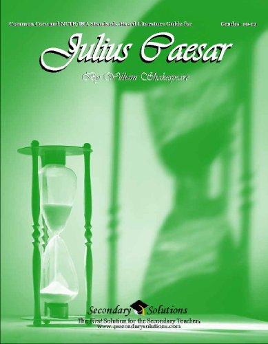 Julius Caesar Teaching Guide - Novel lesson unit for teaching Julius Caesar by Shakespeare