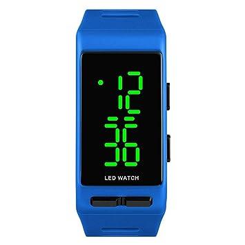 WULIFANG Mens Digital Outdoor Sports Watch Watch 2 Hora De Reloj Led Display La Moda Masculina