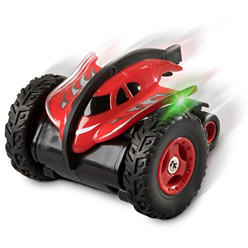 """Force1 Mini RC Cars for Kids - """"Stingray"""" Mini RC Car w/ Fast RC Car Rubber Tires and LED Lights for RC Cars for Adults and Kids (Color May (Dial Stingray)"""