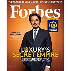 Forbes, August 25, 2014