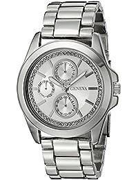 Women's FMDJM121 Analog Display Quartz Silver Watch