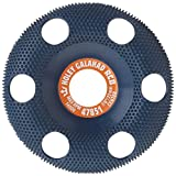 King Arthur's Tool 47851 RCB Holey Galahad Round Course Blue 7/8-Inch 22mm Center Hole