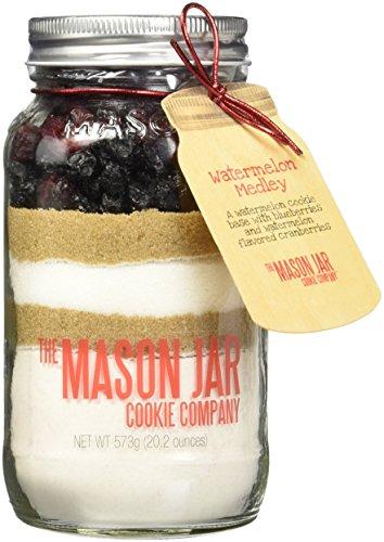 The Mason Jar Cookie Company Cookie Mix, Watermelon Medley, 1.3 Pound