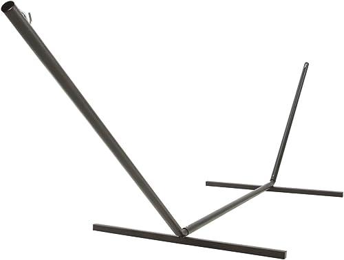 The Hamptons Collection 15' Center Beam Bronze Indoor/Outdoor Steel 2-Point Hammock Stand
