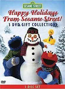 Happy Holidays From Sesame Street!: 3-DVD Gift Col