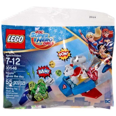 Lego DC Super Hero Girls 30546 Bundle of 8 Polybag Party Fav