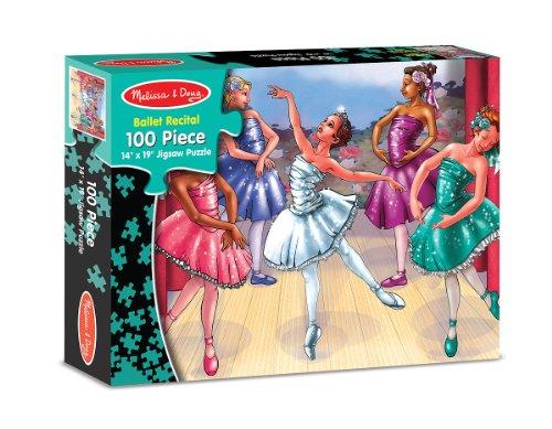 Melissa & Doug's 100 Piece Ballet Recital Jigsaw Puzzle