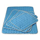 Dora Bridal Cooling Mat Pet Cool Pad Fast Self Cooling Dog Bed Cat Kennel Mat Non-Toxic Easy Clean Blue 10270cm