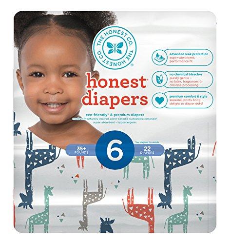 honest company diaper size 4 - 7