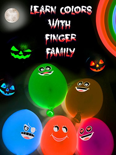 Learn Colors with Finger Family
