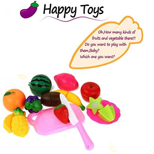 13個入りCutting Fruit Vegetable   misakyごっこ遊び子供キッド教育玩具の商品画像