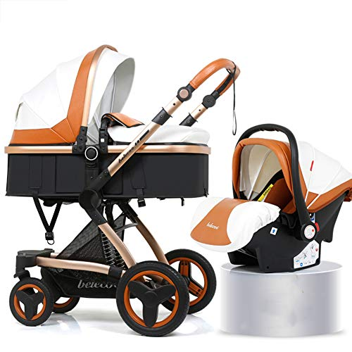 Travel Stroller Buggy Baby Child Pushchair High Landscape Portable Baby Carriages Folding Prams for Newborns,c