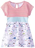 Zutano Baby-Girls Newborn Out To Sea Banded Waist Dress, White, 24 Months