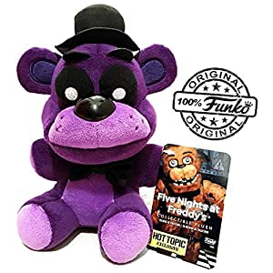 """Official Funko Five Nights At Freddy's 6"""" Limited Edition Shadow Freddy Bear Exclusive FNAF Plush Doll Toy"""
