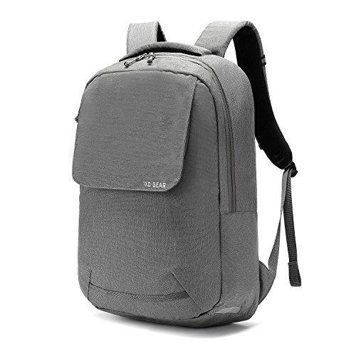 Laptop Backpack for College Student Office Work for Men Women Unisex Travel Hiking Camping Trekking Outdoor Bag Urban Backpack for Everyday Use Cycling Travel by 1XD Gear (Grey) (Best Backpack For Everyday Use)