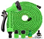 ZUVO 100 Feet Green Expandable Hose Pipe