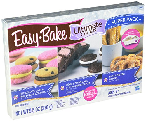 Easy-Bake Refill Super Pack Net WT 9.5OZ(270g) (Bake Easy Oven Hasbro)