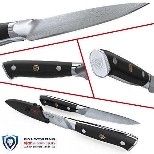 DALSTRONG Paring Knife - Shogun Series - AUS-10V- Vacuum Treated - 3.5'' Paring Knife by Dalstrong (Image #1)