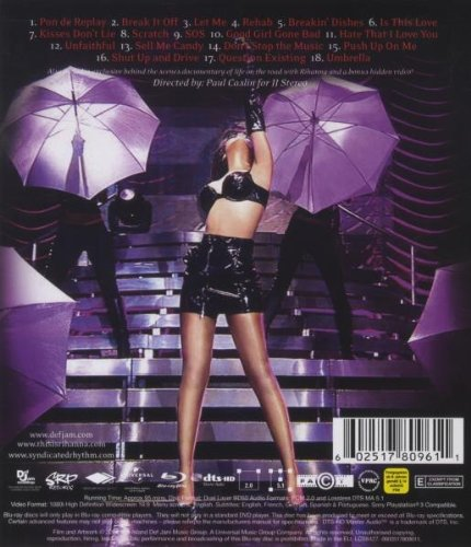 Rihanna: Good Girl Gone Bad Live [Blu-ray] by DVD