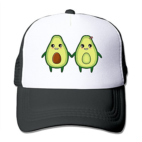 ACMIRAN Avocado Couple Funny Trucker Hat One Size Black - Stanford Tree Costume