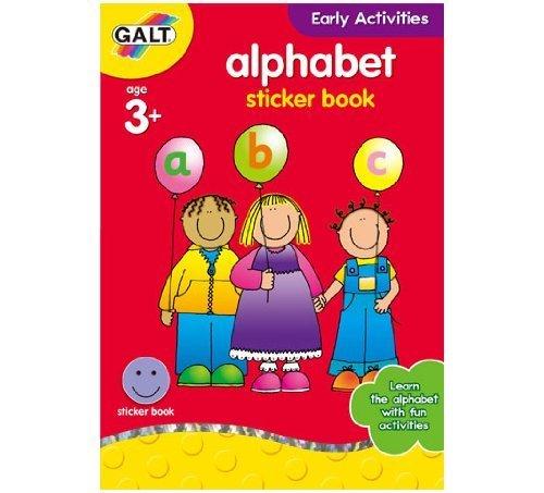 Galt Home Learning Alphabet Sticker Book by Galt America