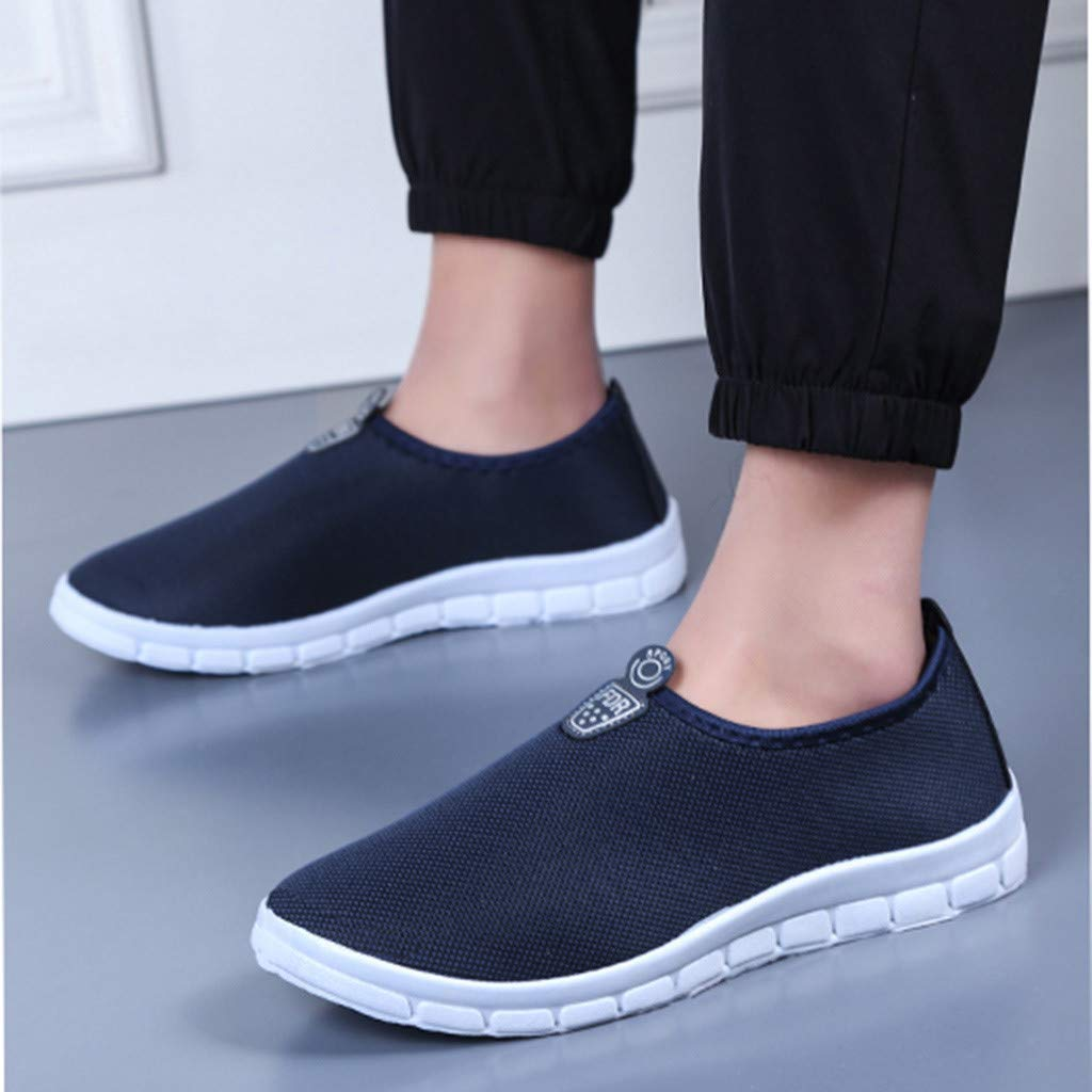 Men's Slip-On Shoes - Sport Sneakers Comfortable Footwears Loafers Shoes,2019 New by MEN SHOES BIG PROMOTION-SUNSEE (Image #3)