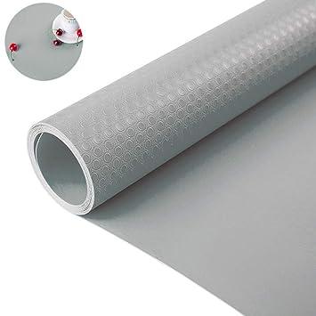 Bloss Shelf Liner Drawer Liner Cabinet Liner for Drawers, Shelves, Kitchen  Cabinets, Storage, Kitchens and Desks, Grey 17.7\
