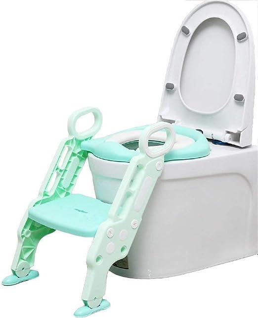Suministros de baño Niño del bebé del asiento de tocador del bebé Escalera asiento ajustable altura