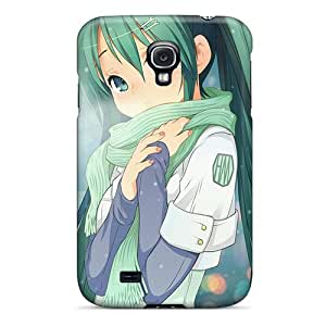 Excellent Hard Cell-phone Case For Samsung Galaxy S4 (BUS6733ZZOe) Customized Colorful Hatsune Miku Pictures