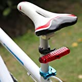 3 Led 2 Mode Bicycle Tail Light Lamp Mountain Bicycle Light Lamp