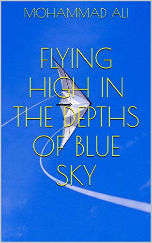 FLYING HIGH IN THE DEPTHS OF BLUE SKY