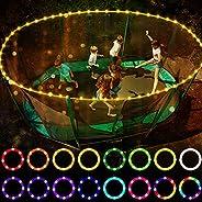 LED Trampoline Lights,Remote Control Trampoline Rim LED Light for Trampoline, 16 Color Change by Yourself, Wat