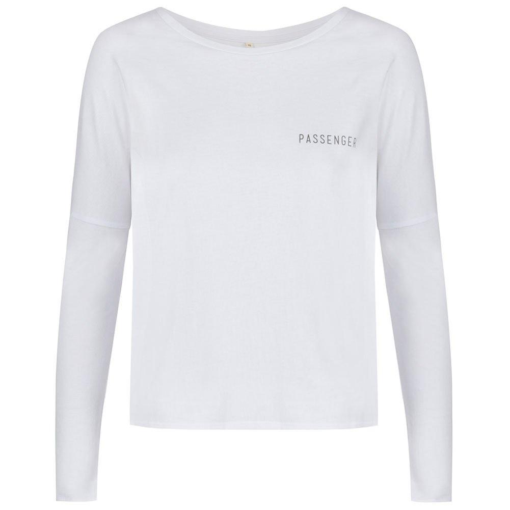 Passenger Camiseta de manga larga para mujer Liberate, blanco, Large: Amazon.es: Deportes y aire libre