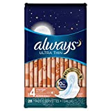 Always Ultra Overnight With Flex-Wings  28Ct  (Pack of 2)
