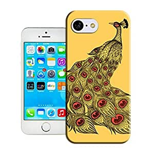 TYHH - Yishucase-Peacock Art Print yellow lovely cartoon mobile phone shell durable top Hard Cover for iPhone 6 4.7 case ending phone case