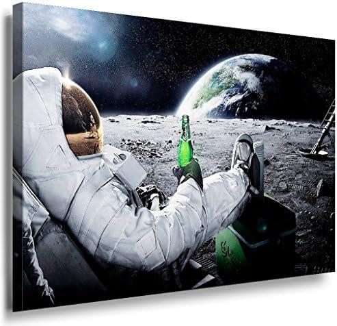 Kosmos LaraArt Impression sur toile Multicolore 40 x 30 cm