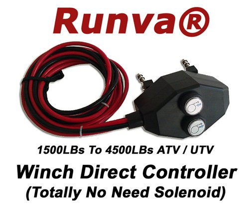 Wiring Winch Atv (Universal Runva ATV / UTV Winch Direct Controller Switch (Totally No Need Solenoid) 200a)