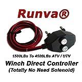 Runva Universal ATV / UTV Winch Direct Controller Switch (Totally No Need Solenoid)