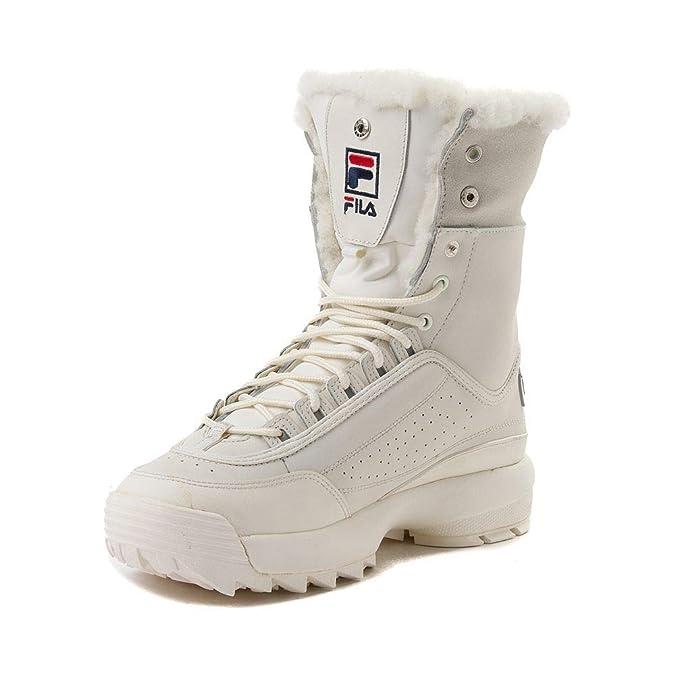 37f0eb418 Amazon.com   Fila Disruptor Shearling Boots - Womens   Boots